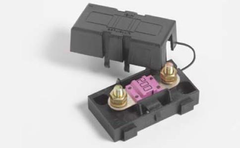 小型平插保险丝盒 midi-32v :  部份汽车保险丝座 须配合保险丝盒进